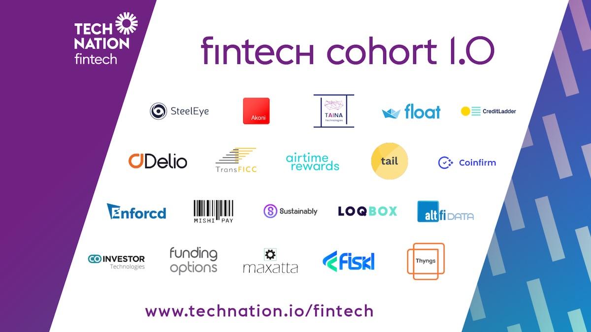 Fintech Top 20 UK