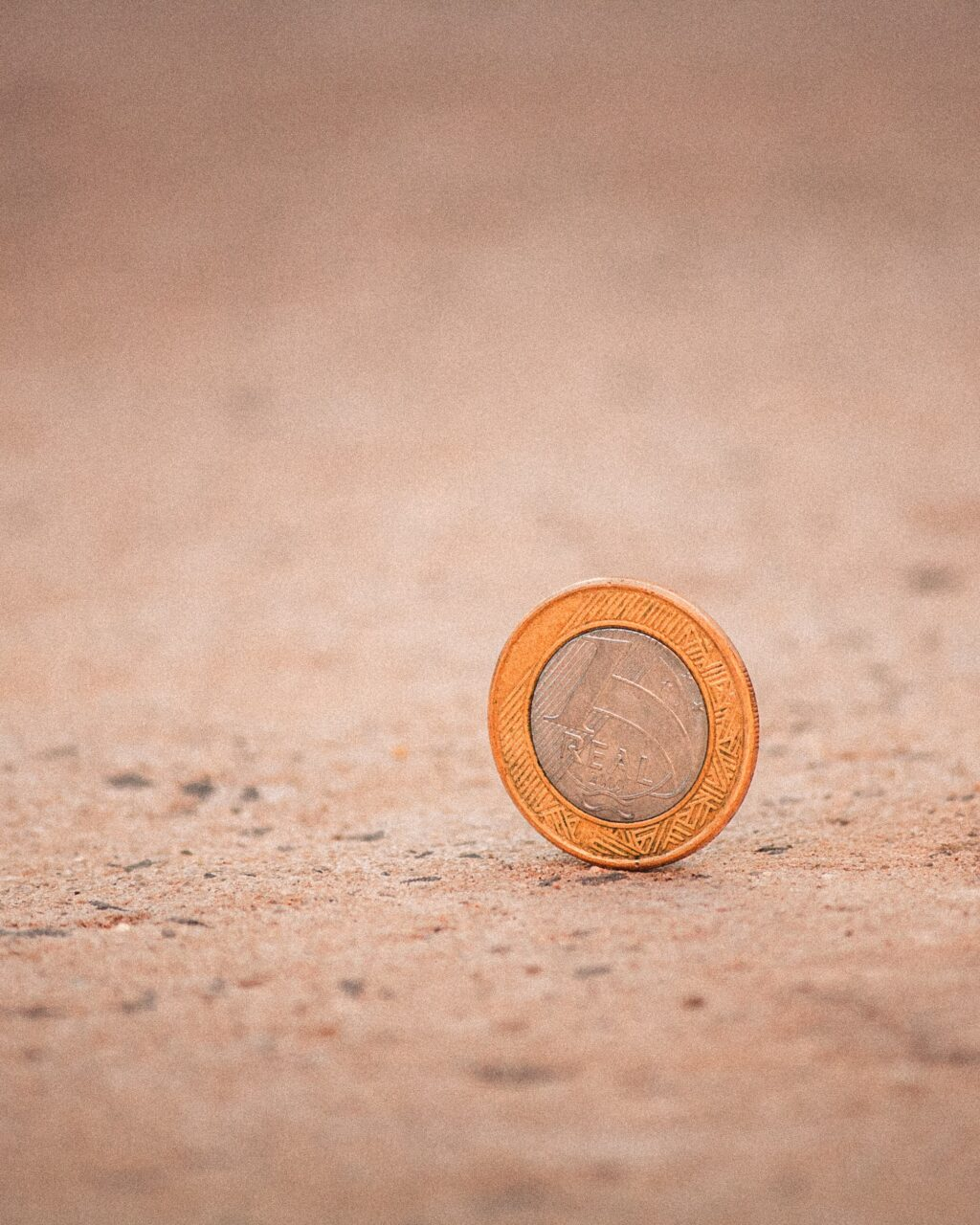 Coin on the ground