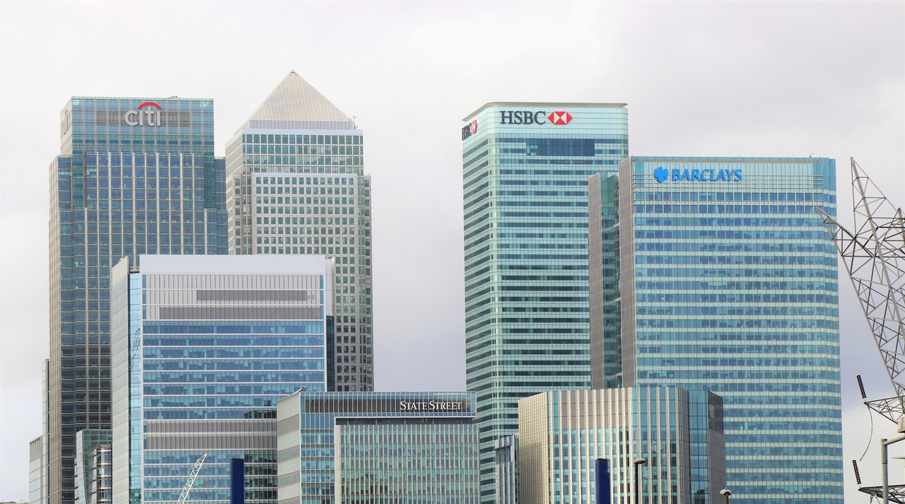Image of some of the world's largest banks