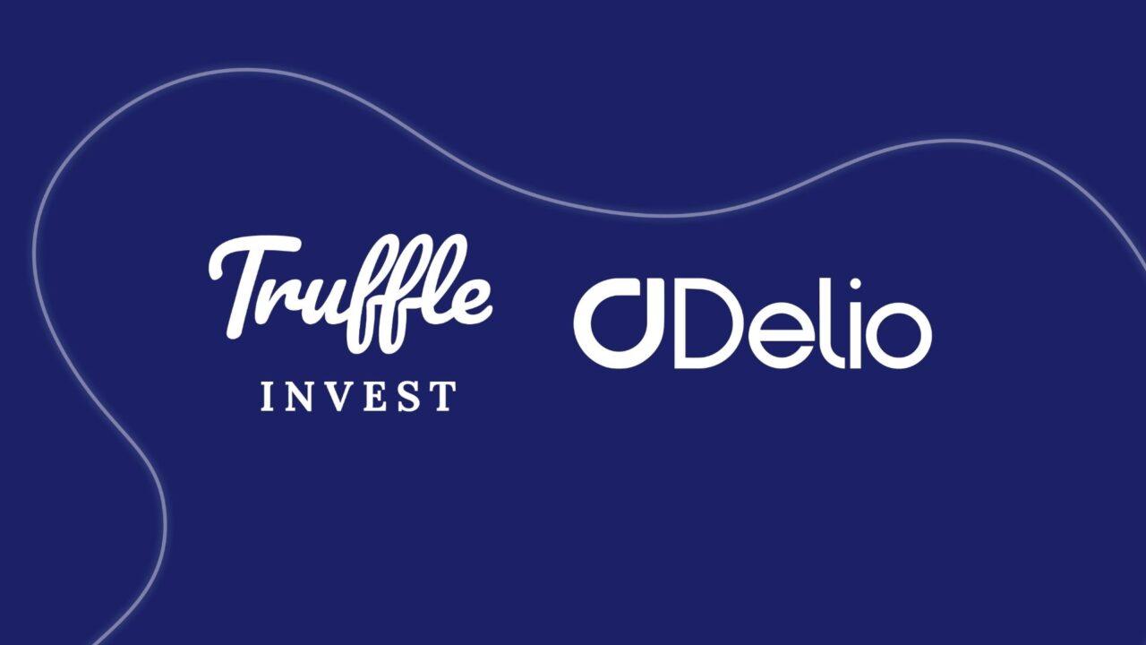 Truffle Invest and Delio logos